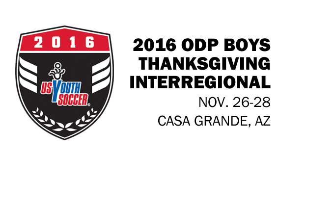 2016 ODP Boys Thanksgiving Interregional